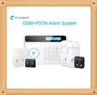 fire alarm - New eTIGER S4 Wireless GSM Alarm System Mhz Home Security Protection Like Chuango G5 GSM SMS
