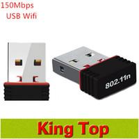 achat en gros de lan wifi répéteur mini--2016 Repetidor Wifi Repeater Le plus nouvel adaptateur mini d'USB 150mbps 150m Réseau sans fil Lan 802.11n / g / b 2.4ghz de réseau d'ordinateur 1pcs
