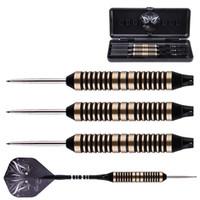Wholesale New high grade set of Steel Needle Tip Dart Darts professional competition With Nice Flight Flights darts