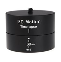 Wholesale 360 Degrees Aluminum Alloy Mini Panning Rotating Time Lapse Stabilizer Tripod Adapter for Gopro DSLR D1186