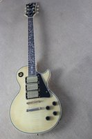 best beauty shops - G style Electric guitar beauty fashion pickup standard high quality custom shop Flamed cream yellow maple top best selling