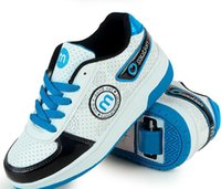 single wheel shoes - Women Athletic Shoes Boy Child Manual Male Shoes Girls Sport Shoes Single Wheel Roller Shoes Running Size32