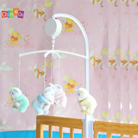 bell hanger - Hot Sale High Quality Baby Bedroom hanger White Color Music box movement serinette music bell movement DP874323