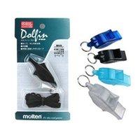 Wholesale New Molten Mini Whistle Basketball Referee Whistle Dolphin Soccer Volleyball Whistle Cheerleading Apitos Silbato