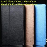 Wholesale Ainol AX Fire Novo Flame Octa Core Numy Note Octa Core quot high quality special folding folio leather case leather pounch