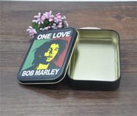 Wholesale reggae design rasta style tobacco box rolling machine vaporizer grinder pipe screens