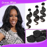 Wholesale Brazilian body wave hair weave virgin human hair bundles Cambodian Chinese virgin hair wavy extension double weft No Tangle No Shedding