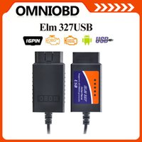 Wholesale 2016 OBD2 OBDII scanner ELM USB V1 car diagnostic tool interface scanner ELM327USB