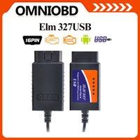 Wholesale 2016 OBD2 OBDII scanner ELM USB V1 car diagnostic tool interface scanner ELM327USB