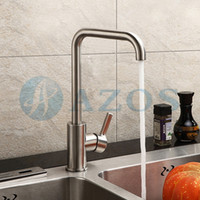antique furniture sinks - Free Swivel Hose Spray Single Handle Stainless Steel Antique Brass Deck Mounted Washing Mixers Furniture Kitchen Sink Faucets