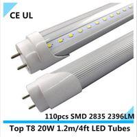 Wholesale Top t8 led tube m W LED T8 lamp bulb cool white AC V V LM LEDs UL CE