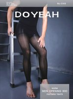 tights for men - Men s warm men opening D footless tights doyeah Silk stockings Velvet pantyhose for men