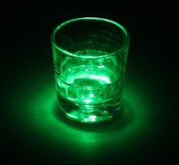 auto coasters - 3 LED Flashing Lights Bulb Bottle Cup Mat Coaster For Clubs Bars Party