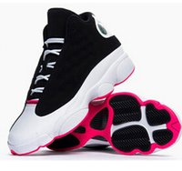 Wholesale New Arrival High Quality Retro XIII Sneakers Shoes for Women Basketball Shoes Retro XIII Sport Shoe Athletic trainers white black pink