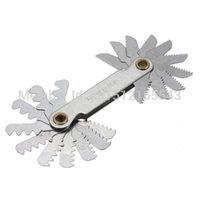 Wholesale 1pc Whitworth pc Metric Screw Thread Pitch Measure Gage Gauge Measuring Tools