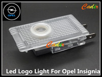 Wholesale Car LED Courtesy Door Laser Projector Shadow Logo Light for Opel Insignia