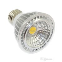 Wholesale COB E27 E26 W Dimmable Led PAR20 Lights Angle High Power Cool Warm White GU10 GU5 Led Bulbs Light Ultra Bright AC V CE FCC CUL