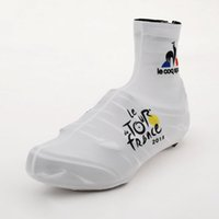 overshoes - 2015 tour france Cycling Shoe Covers Cycling Jersey Ciclismo Overshoe Bicycle Shoes Pro Road Racing Bicycle Shoe Covers White style
