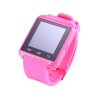 Wholesale New u8 smart watches for android phones with bluetooth pedometer color green blue pink