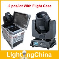 move free - New Arrival Sharpy Beam Lights R W R W LED Moving Head Lights Stage Lighting With Flight Case Fast By Fedex