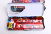 Wholesale 80 Big Hero Pencil Case Plastic Pencil box Children multifunction Stationery for girl and boy T68