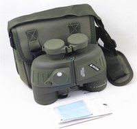 Wholesale 124M M Navy Military Tactical X50 BINOCULARS Telescope BAK4 With Range Finder RETICLE and Built in Compass