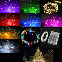 Wholesale Battery Operated String Fairy Light Xmas Tree Party Wedding M LED
