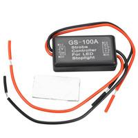 Wholesale car Flash Strobe Controller Flasher Module for LED Brake Stop Light Lamp DHL EMS gib