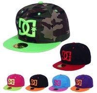 dc caps - 5PCS Cheap new DC Fitted cap baseball caps summer hat fitted hip pop cap men gorras baseball hats for women bone good