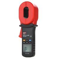 Wholesale UNI T ohm w Auto Calibration Resistance Limit Alarm Auto Range Digital Clamp Earth Ground Resistance Testers UT273