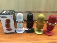 Wholesale Microphone type Mini Bluetooth Speaker low stress pills portable card outdoor hot sale