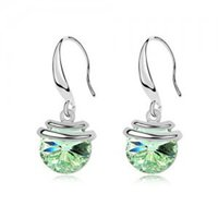 clip on charms - WEDDING GIFT CHARMING GRACEGUL ECUISITE LEAD TIN ALLOY PLATED EARRINGS Clip on Screw Back Earrings G023