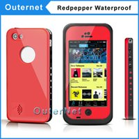 iphone 5c - Fashion Redpepper Waterproof Case Water Proof Cell Phone Cases For iphone C Without Retail Pack High Quality Case Outernet