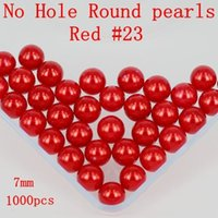 Wholesale No Hole mm Many Colors To Choose No Hole Round Pearls Imitation Pearls Craft Art Diy Beads Nail Art Decoration