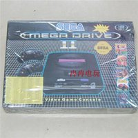 Wholesale 16bit sega video game player game unit MD game console use black game cartridges built in bit games mega drive with a card