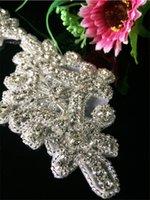 trimmings - Hot fix cheap clear Rhinestone crystal Trim shinny crystal fashion bling handmade dog clothes