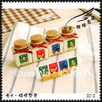 Wholesale merry christmas stamp shape decoration amp gift stickers cm cm