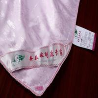 Wholesale Top grade handwork kg pure nature silk quilt comforter pink soft polyester fabrics quilt cover silk comforter x220cm