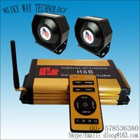 Wholesale Federal Signal H8B W wireless siren and speaker for car tones Dual channel with MIC Price for Siren speakers