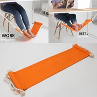 hammock stand - Portable Mini Office Foot Rest Stand Desk Feet Hammock Easy to Disassemble Home Study Library Outdoor