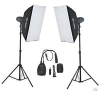Wholesale WITHOUT REFLECTOR EU quality VISICO VL300X2 STUDIO flash light kits EASY PHOTO OUT DOOR SMALL BODY HIGH POWER