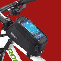 Wholesale J Deal quot quot quot Bike Bicycle Cycle Cycling Frame Tube Panniers Waterproof Touchscreen Phone Case Reflective Bag Colors