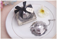 wedding souvenirs - wedding favor gift and giveaways for guest Tea for Two Teapot Tea Infuser Favours party souvenir