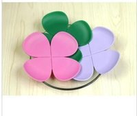 Cheap Wholesale-wedding valentine innovative item party desk decoration flower silicone mat mug tea cup pad heat insulation petal felt coaster