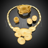 indian jewelry - gold plated Indian jewelry sets for party bridal indian jewelry set HE4111714