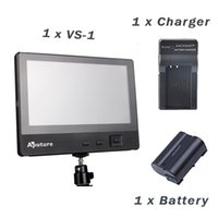 battery charger monitor - Aputure VS KIT V Screen Video Monitor for Canon Nikon sony DSLR Video Camcorder Battery Charger