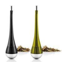 Wholesale 2015 Hot sale European Style Tea Infuser Strainer Filter Tools Novelty Households Gadget Drinkware Tea Ball Eva Solo Tea Filter Tea Egg