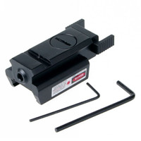 Wholesale Red Dot Laser Sight Weaver Rail Mount mm For Picatinny Gun Compact Hunt VE824 W0