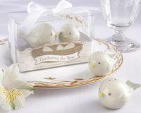 Wholesale 10 Sets Feathering The Nest Porcelain Flavouring Pot Wedding Party Favor Gift