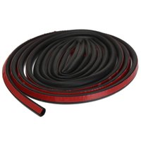 Wholesale 4M D shape Car Truck Motor Door Rubber Seal Strip Weatherstrip Seals